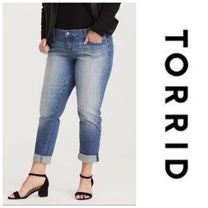 Torrid Plus Size Boyfriend Jeans